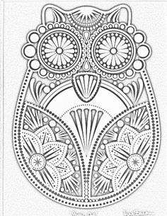printable pictures of intricate pageprintablecoloring pages - Coloring Page Designs
