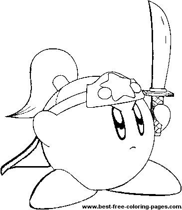kids coloring pages kirby,printable,coloring pages