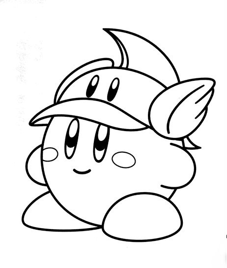 kirby coloring pages,printable,coloring pages