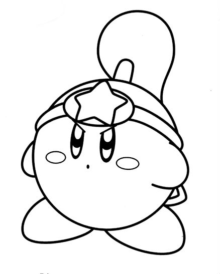 kirby coloring pages 12,printable,coloring pages