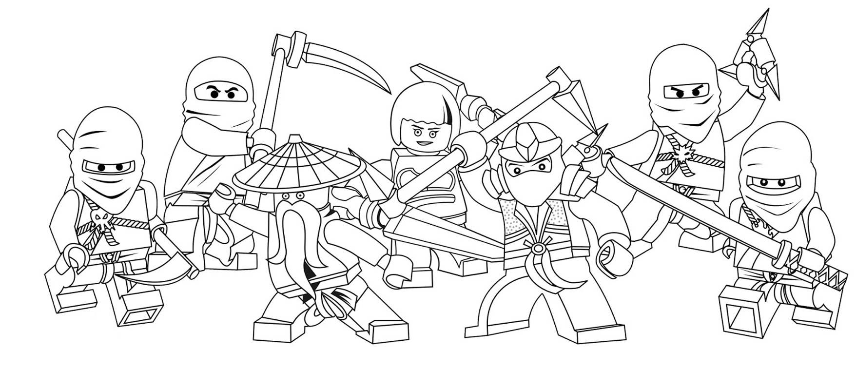 kids coloring pages lego-ninjago,printable,coloring pages