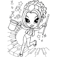 kids coloring pages lisa-frank,printable,coloring pages