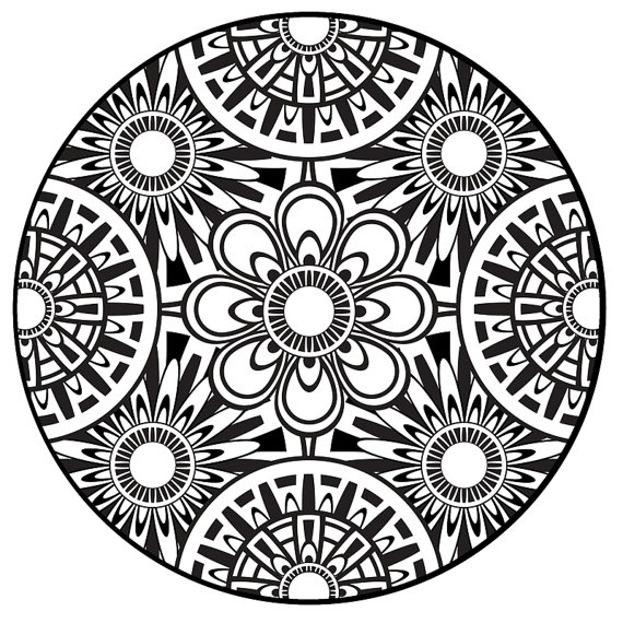 13 kids coloring pages mandala Print Color Craft