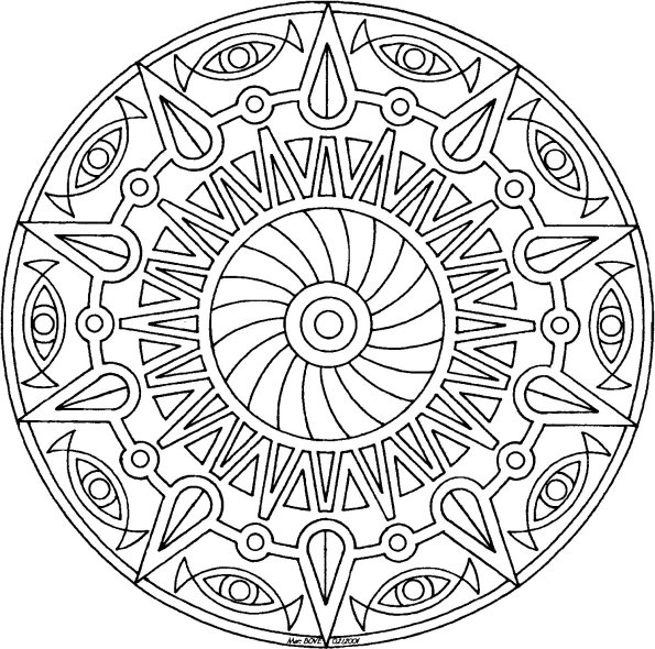 mandala coloring pages 12,printable,coloring pages