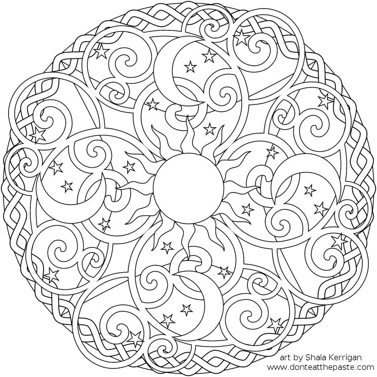 mandala coloring pages for kids,printable,coloring pages