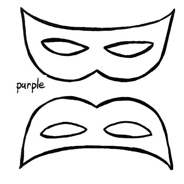 masquerade masks coloring pages - 13 kids coloring pages mask print color craft