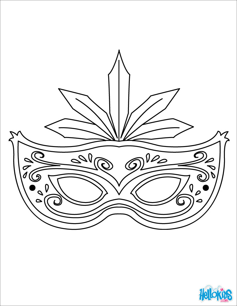 printable mask coloring pages,printable,coloring pages