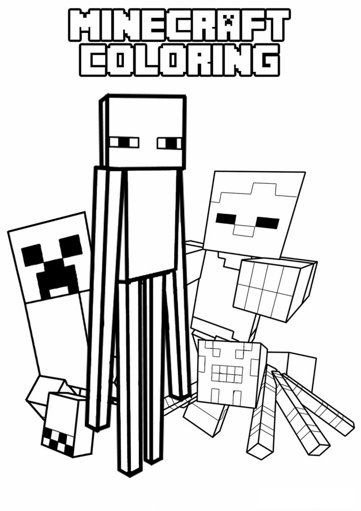 minecraft coloring pages,printable,coloring pages
