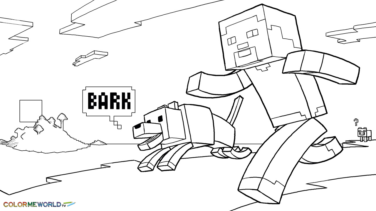 minecraft coloring pages for kids,printable,coloring pages