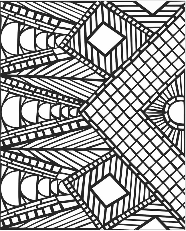 coloring pages of mosaic,printable,coloring pages