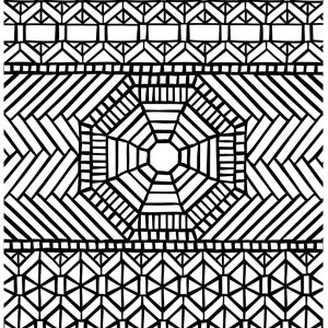 Hard Mosaic Coloring Pages Coloring Pages