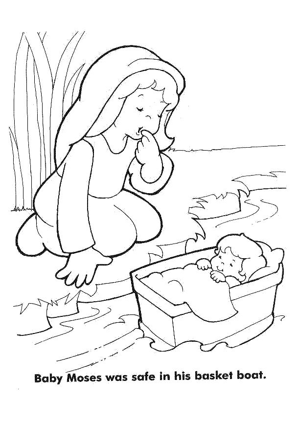 coloring pictures moses,printable,coloring pages