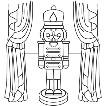 coloring pages of nutcracker,printable,coloring pages