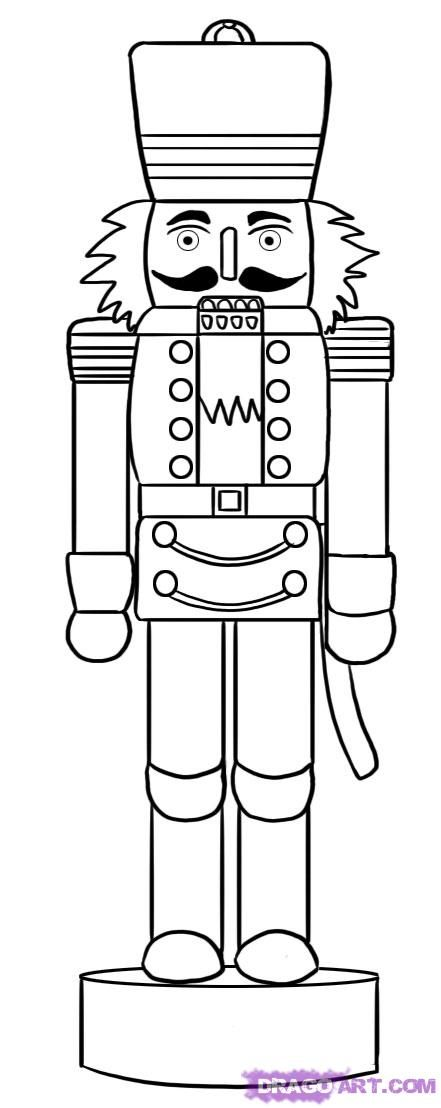 kids coloring pages nutcracker,printable,coloring pages