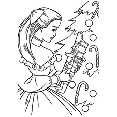 14 nutcracker coloring pages print color craft for Nutcracker ballet coloring pages