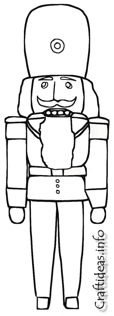 coloring pages of nutcrackers - photo#19