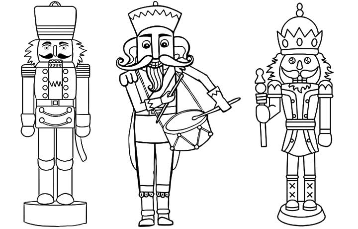 coloring pages of nutcrackers - photo#14