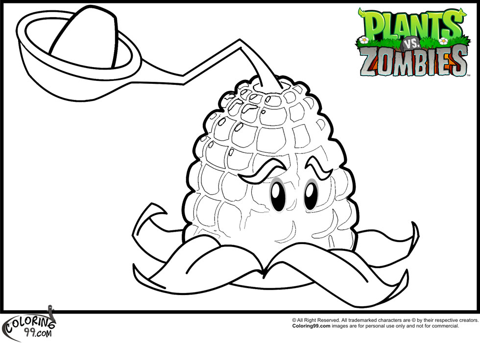 plants-vs-zombies coloring pages printable,printable,coloring pages