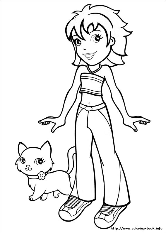 coloring pages of polly-pocket,printable,coloring pages