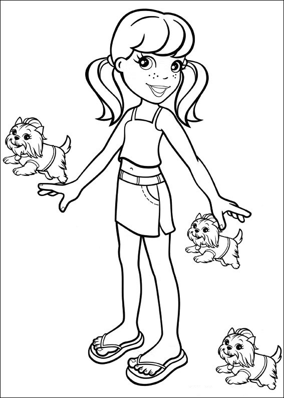 polly-pocket coloring pages for kids,printable,coloring pages