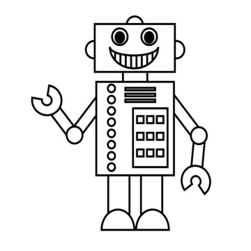 robot coloring pages 12,printable,coloring pages