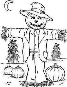 kids coloring pages scarecrow,printable,coloring pages