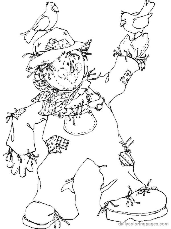 scarecrow coloring pages 11,printable,coloring pages