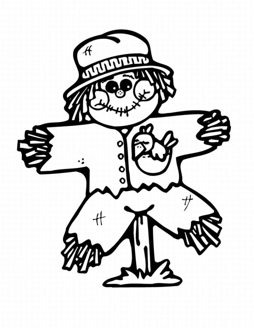 scarecrow coloring pages 14,printable,coloring pages