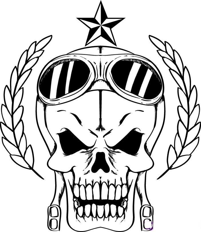 skull coloring page,printable,coloring pages