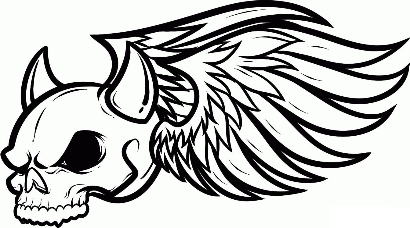skull coloring pages 11,printable,coloring pages
