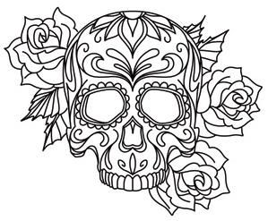 skull coloring pages 12,printable,coloring pages