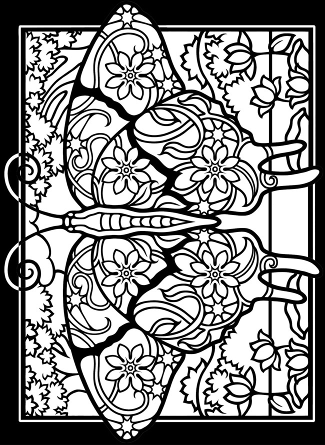 coloring pages of stained-glass,printable,coloring pages