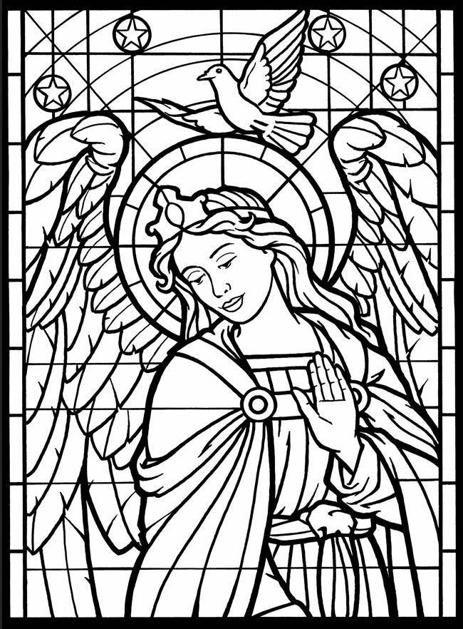 kids coloring pages stained glassprintablecoloring pages