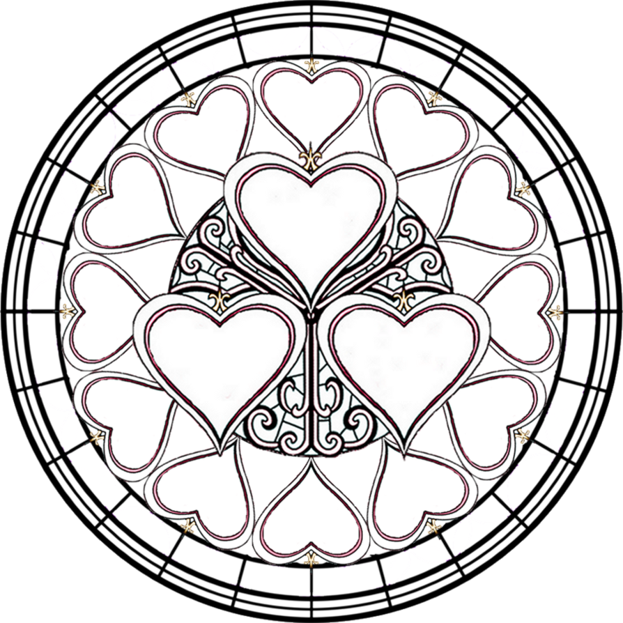printable pictures of stained-glass page,printable,coloring pages