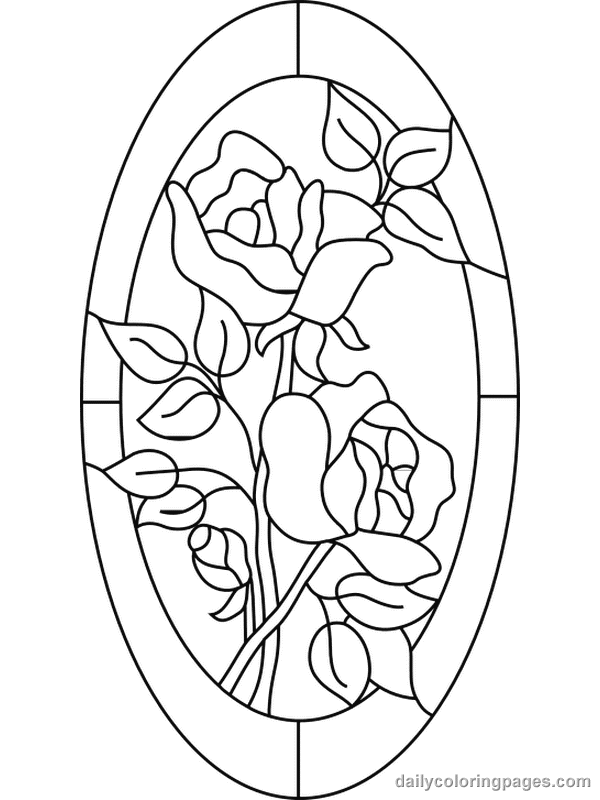 stained-glass coloring pages 12,printable,coloring pages