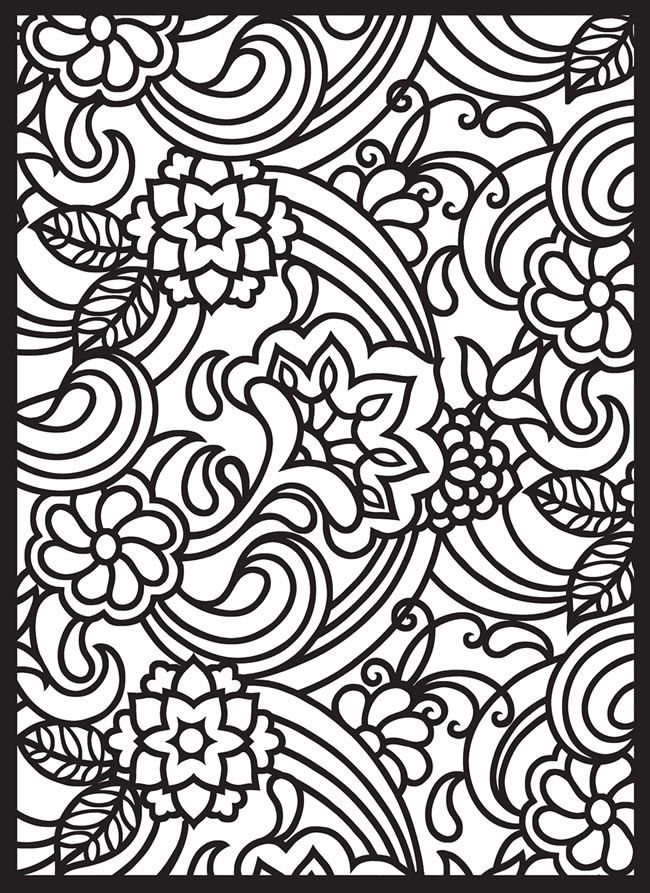 15 Stained Glass Coloring Pages For Kids Print Color Craft Where To Print Color Pages