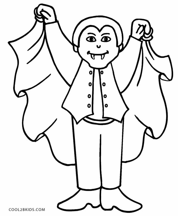 vampire coloring page to print,printable,coloring pages