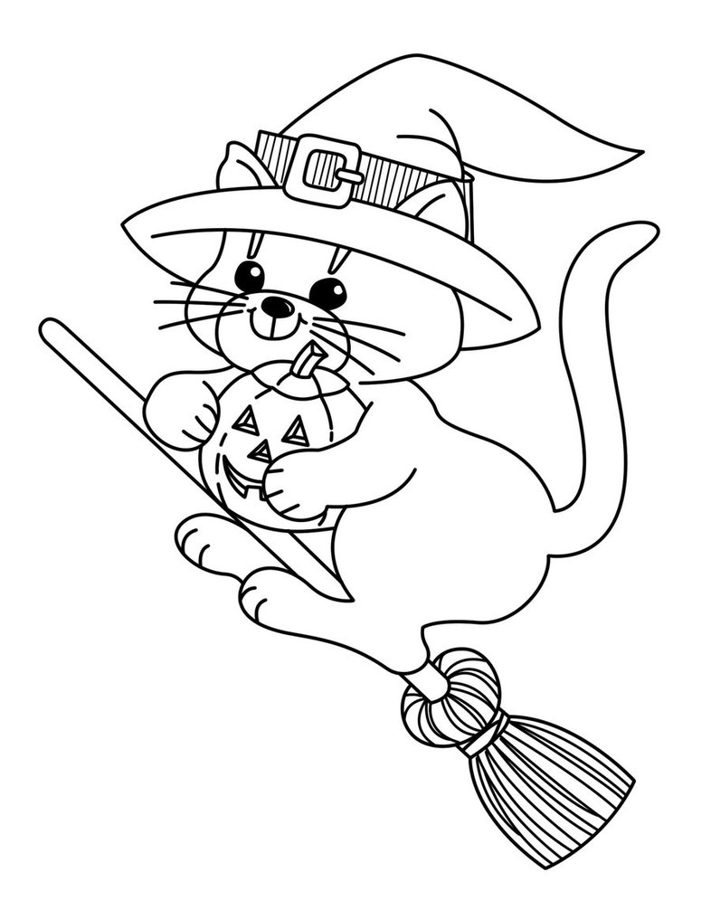 coloring pages of witch,printable,coloring pages