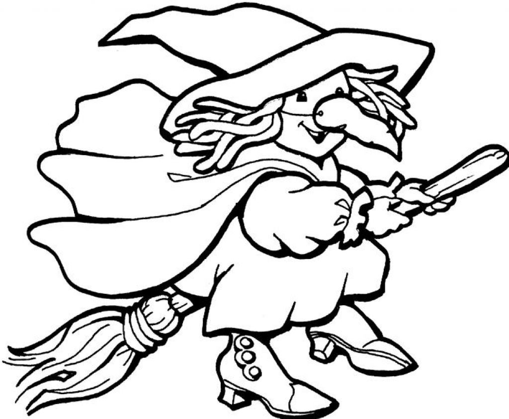 witch coloring page,printable,coloring pages