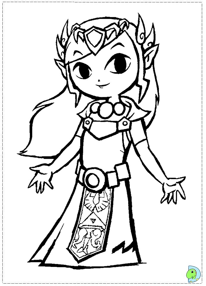 coloring pictures zelda,printable,coloring pages