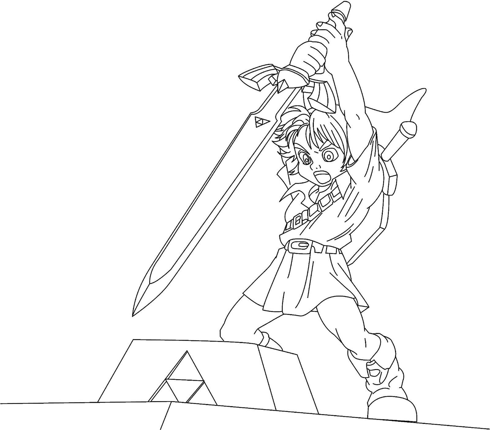 printable pictures of zelda page,printable,coloring pages