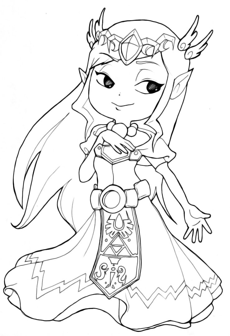 zelda coloring pages 13,printable,coloring pages