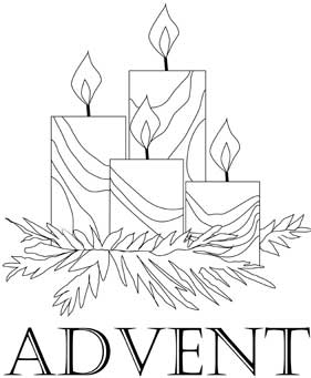 advent coloring page,printable,coloring pages