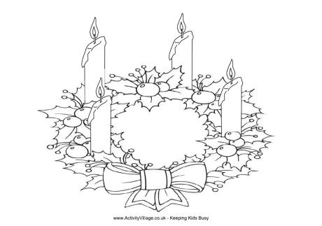 advent coloring page to print,printable,coloring pages