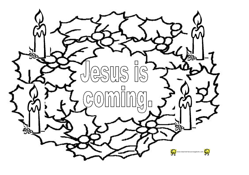 25 printable advent coloring pages print color craft for Printable advent coloring pages