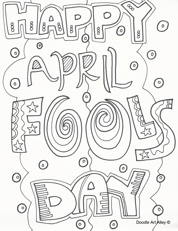 april-fools-day coloring page,printable,coloring pages