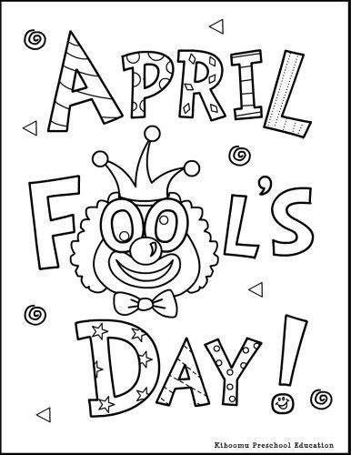 coloring pages of april-fools-day,printable,coloring pages
