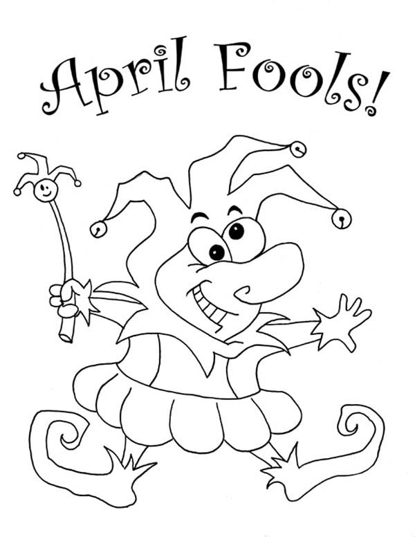coloring pictures april-fools-day,printable,coloring pages