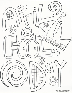 kids coloring pages april-fools-day,printable,coloring pages