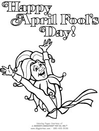 printable april-fools-day coloring pages,printable,coloring pages